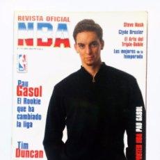 Coleccionismo deportivo: REVISTA OFICIAL NBA ESPECIAL PAU GASOL . Lote 91432640