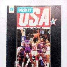 Coleccionismo deportivo: BASKET USA FASCÍCULO Nº 29 SUNS/CALIFORNIA/LIGA UNIVERSITARIA/GEORGE MIKAN. Lote 91454070