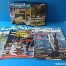Coleccionismo deportivo: LOTE DE REVISTAS DE PESCA - JARA Y SEDAL - TROFEO DE PESCA - AÑO 2004. Lote 26298096