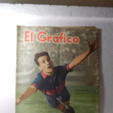 Coleccionismo deportivo: REVISTA EL GRÁFICO Nº 1514 BUENOS AIRES 16 DE JULIO DE 1948 58 PG.. Lote 213740488