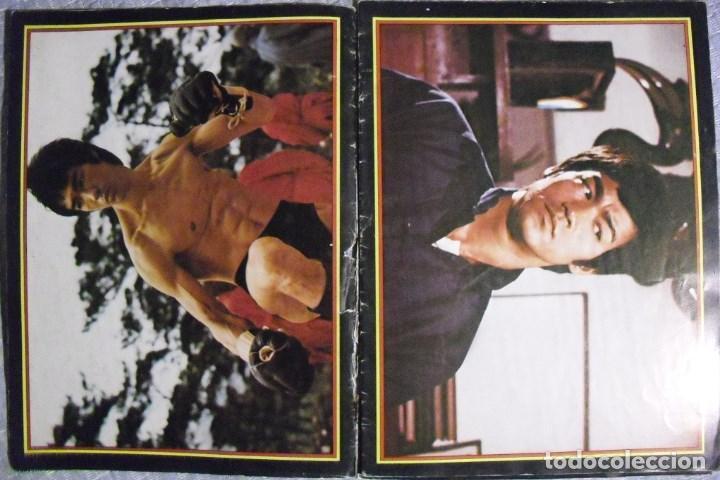 BRUCE LEE - CALENDARIO DE 1976 DE LA REVISTA FRANCESA ''KARATE'' - RAREZA (Coleccionismo Deportivo - Revistas y Periódicos - otros Deportes)