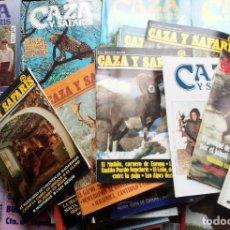 Coleccionismo deportivo: CAZA Y SAFARIS. LOTE DE 46 REVISTAS DESDE EL Nº 1 AL 99.PERFECTO ESTADO VER FOTOGRAFÍAS&DESCRIPCIÓN. Lote 147840390