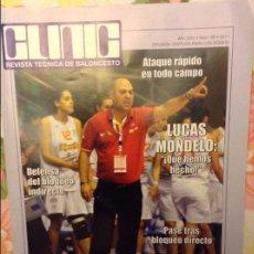Coleccionismo deportivo: REVISTA TECNICA DE BALONCESTO CLINIC. Nº 88. 2011 - LUCAS MONDELO -. Lote 93384250