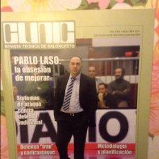 Coleccionismo deportivo: REVISTA TECNICA DE BALONCESTO CLINIC. Nº 89. 2011 - PABLO LASO -. Lote 93384580