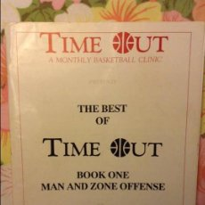 Coleccionismo deportivo: THE BEST OF TIME OUT. BOOK ONE. MAN AND ZONE OFFENSE - JIM BAKER -. Lote 93392700