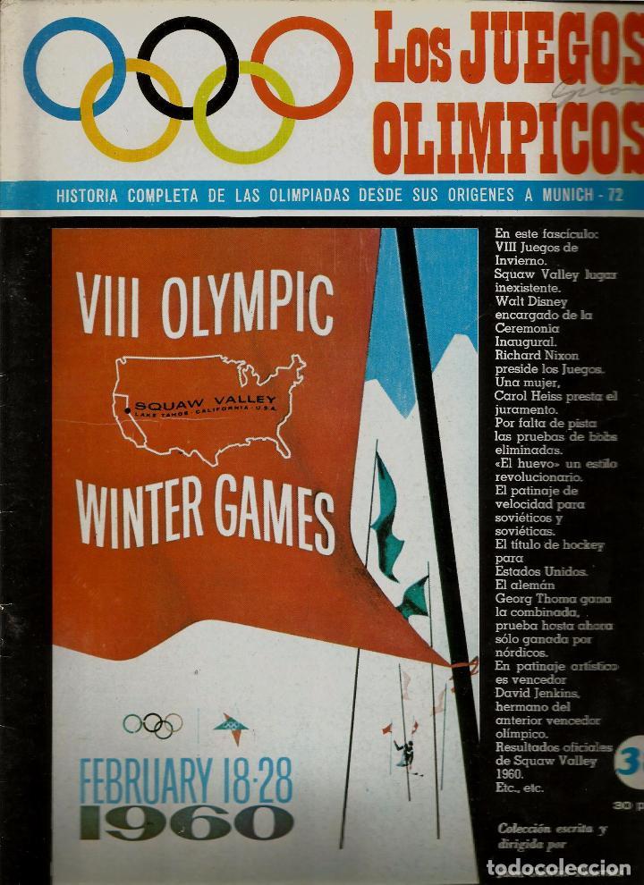Los Juegos Olimpicos Nº 38 Viii Juegos De Invierno Squaw Valley 1960