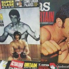 Coleccionismo deportivo: URTAIN,LOTE DE 5 REVISTAS . Lote 94327570