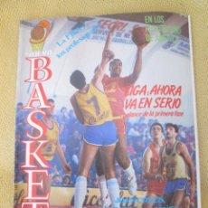 Coleccionismo deportivo: REVISTA NUEVO BASKET AÑO VII, NUMERO 140, ENERO 1986. Lote 94409150