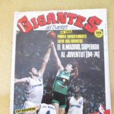 Coleccionismo deportivo: REVISTA GIGANTES DEL BASKET. Nº 102 OCTUBRE 1987. Lote 94519574