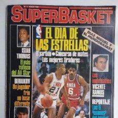 Coleccionismo deportivo: BALONCESTO REVISTA SUPERBASKET N° 1 CONSERVA POSTER EPI AÑO 1986. Lote 94602059