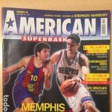 Coleccionismo deportivo: REVISTA BALONCESTO AMERICAN SUPERBASKET Nº 20, PAU GASOL. Lote 95020047