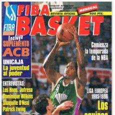 Coleccionismo deportivo: REVISTA BALONCESTO FIBA BASKET Nº 23, 2ª EPOCA. Lote 95020735