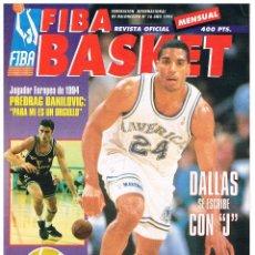 Coleccionismo deportivo: REVISTA BALONCESTO FIBA BASKET Nº 16 2ª ETAPA, JIMMY JACKSON. Lote 95031615
