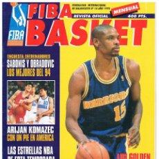 Coleccionismo deportivo: REVISTA BALONCESTO FIBA BASKET Nº 14 2ª ETAPA, LATRELL SPREWELL. Lote 95031887