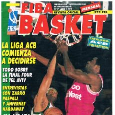 Coleccionismo deportivo: REVISTA BALONCESTO FIBA BASKET Nº 7 2ª EPOCA. Lote 95032123