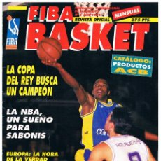 Coleccionismo deportivo: REVISTA BALONCESTO FIBA BASKET Nº 5, 2ª ETAPA. Lote 95032243