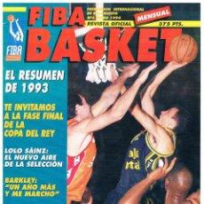 Coleccionismo deportivo: REVISTA BALONCESTO FIBA BASKET Nº 3, 2ª EPOCA, ALBERTO HERREROS. Lote 95032787
