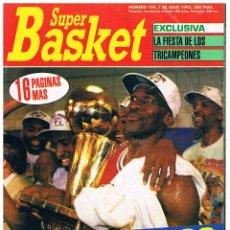 Coleccionismo deportivo: REVISTA BALONCESTO SUPER BASKET Nº 184, MICHAEL JORDAN, CHICAGO BULLS, SUPERBASKET. Lote 95062975