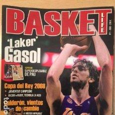 Coleccionismo deportivo: REVISTA BALONCESTO BASKET LIFE Nº 1, PAU GASOL. Lote 95064887