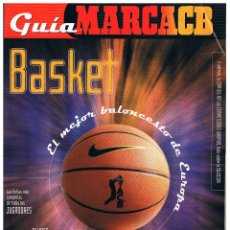 Coleccionismo deportivo: REVISTA GUIA MARCA ACB 2000. Lote 95065387