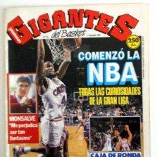 Coleccionismo deportivo: REVISTA GIGANTES DEL BASKET Nº210 NOVIEMBRE 1989. BALONCESTO. PÓSTER ALBERTO HERREROS ESTUDIANTES . Lote 95570331