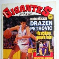 Coleccionismo deportivo: REVISTA GIGANTES DEL BASKET Nº174 MARZO 1989. BALONCESTO. ENTREVISTA DRAZEN PETROVIC REAL MADRID. Lote 95570447