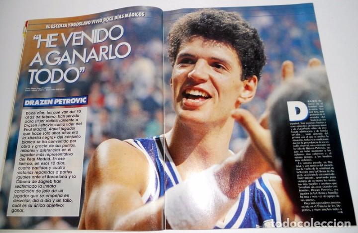 Coleccionismo deportivo: REVISTA GIGANTES del BASKET Nº174 Marzo 1989. BALONCESTO. ENTREVISTA DRAZEN PETROVIC REAL MADRID - Foto 2 - 95570447