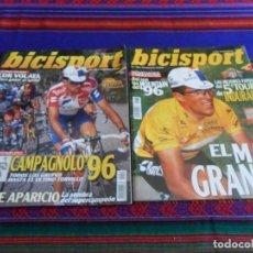 Collectionnisme sportif: BICISPORT NºS 76 CON PÓSTER Y Nº 81 DE REGALO. 1995. QUINTO TOUR DE MIGUEL INDUARIN. BE.. Lote 95829207