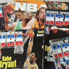 Coleccionismo deportivo: 5 REVISTAS NBA: 83, 84, 85, 89, 191 Y POSTER CHICAGO BULLS (VER FOTOS Y DETALLE). Lote 95970843
