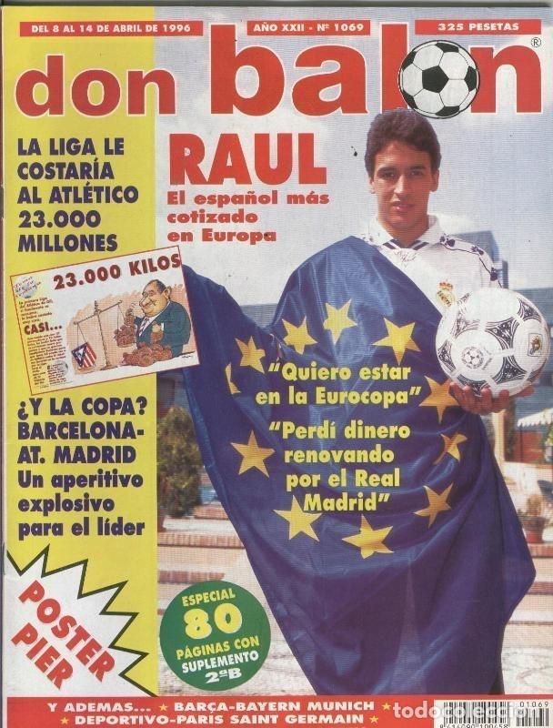 DON BALON NUMERO 1069 (Coleccionismo Deportivo - Revistas y Periódicos - otros Deportes)