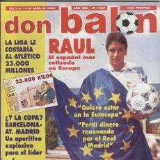 Coleccionismo deportivo: DON BALON NUMERO 1069. Lote 95980423