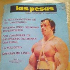 Coleccionismo deportivo: PORTADA ARNOLD SCHWARZENEGGER MR OLIMPIA JUNIO 1974 LAS PESAS 128. Lote 96657299