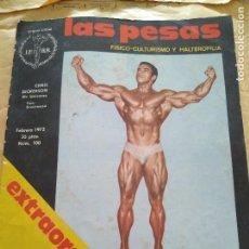 Coleccionismo deportivo: REVISTA LAS PESAS EXTRAORDINARIO FISICO CULTURISMO Y HALTEROFILIA Nº 100 DICKERSON FEBRERO 1972. Lote 96657883