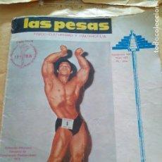 Coleccionismo deportivo: REVISTA LAS PESAS FISICO CULTURISMO Y HALTEROFILIA Nº 107 MAKKAWY SEPTIEMBRE 1972. Lote 96658087