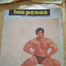 Coleccionismo deportivo: REVISTA LAS PESAS FISICO CULTURISMO Y HALTEROFILIA Nº 126 COLOMBO ABRIL1974. Lote 96658207