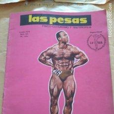 Coleccionismo deportivo: REVISTA LAS PESAS FISICO CULTURISMO Y HALTEROFILIA Nº 131 BECKLES OCTUBRE 1974. Lote 96658299