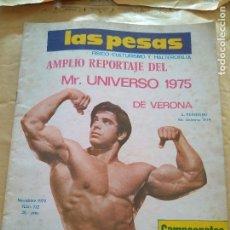 Coleccionismo deportivo: REVISTA LAS PESAS FISICO CULTURISMO Y HALTEROFILIA Nº 132 FERRIGNO NOVIEMBRE 1974. Lote 96658443
