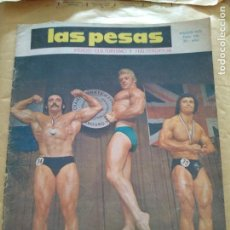 Coleccionismo deportivo: REVISTA LAS PESAS FISICO CULTURISMO Y HALTEROFILIA Nº 136 MARZO 1975. Lote 96658539
