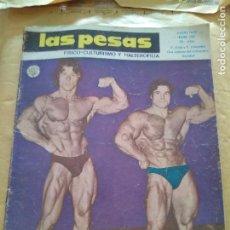 Coleccionismo deportivo: REVISTA LAS PESAS FISICO CULTURISMO Y HALTEROFILIA Nº 139 ZANE Y COLOMBO JUNIO 1975. Lote 96658615