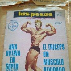 Coleccionismo deportivo: REVISTA LAS PESAS FISICO CULTURISMO Y HALTEROFILIA Nº 140 WALLER JULIO 1975. Lote 96658703