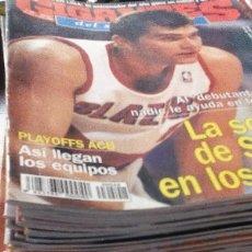 Coleccionismo deportivo: GIGANTES DEL SUPERBASKET. LOTE DE 74 REVISTAS 1996-97-98. BUEN ESTADO. CONTIENE POSTERS. Lote 97130931