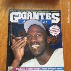Coleccionismo deportivo: REVISTA GIGANTES BASKET, MICHAEL JORDAN. Lote 97138631