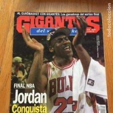 Coleccionismo deportivo: REVISTA GIGANTES DEL BASKET , MICHAEL JORDAN NUMERO 607. Lote 97139227