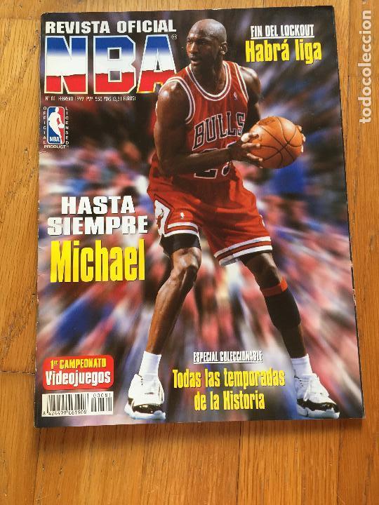 nouveau style 7de76 27df7 REVISTA OFICIAL NBA, MICHAEL JORDAN, Numero 81