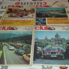 Coleccionismo deportivo: REVISTAS REAL AUTOMÓVIL CLUB DE CATALUÑA. AÑO 1971, Nº 93,95,96 Y 97. FÓRMULA 1. CIRCUITO. PILOTOS. Lote 97209723
