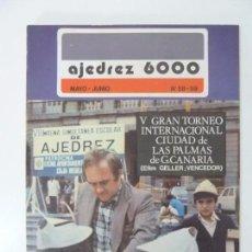 Collectionnisme sportif: AJEDREZ 6000. Nº 58-59. Lote 97758955