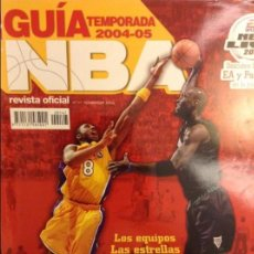 Coleccionismo deportivo: REVISTA OFICIAL NBA Nº 147 (NOVIEMBRE 2004) GUÍA TEMPORADA 2004 - 2005. Lote 97969847