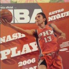 Coleccionismo deportivo: REVISTA OFICIAL NBA Nº 166 (JUNIO 2006). Lote 98050895