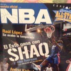 Coleccionismo deportivo: REVISTA OFICIAL NBA Nº 151 (MARZO 2005). Lote 98051523