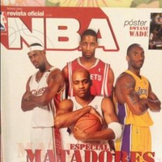 Coleccionismo deportivo: REVISTA OFICIAL NBA Nº 150 (FEBRERO 2005) ESPECIAL MATADORES. Lote 98051683